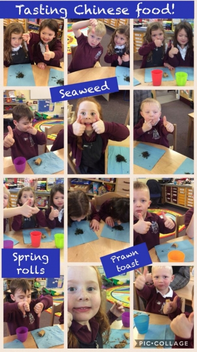 Class 1 Food tasting activity