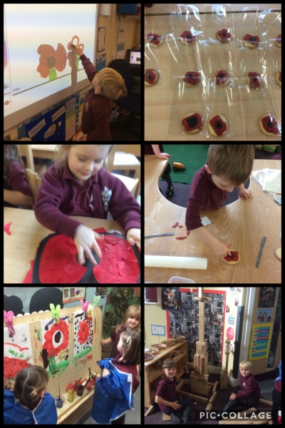 Dosbarth 1 Rememberance Day
