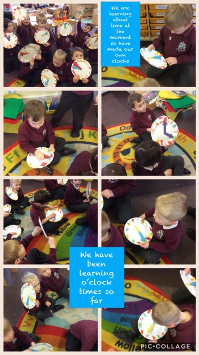 Dosbarth 1 Telling the time
