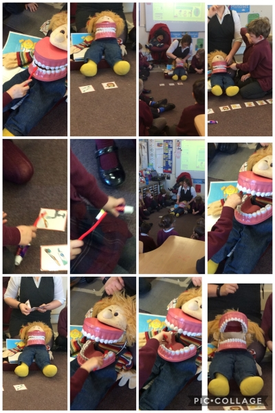Dosbarth 2 PSE session Brushing your teeth