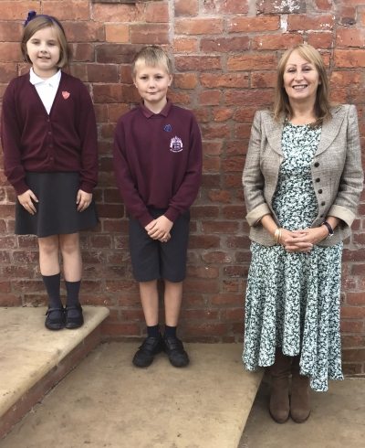 Our New Head Boy and Head Girl !