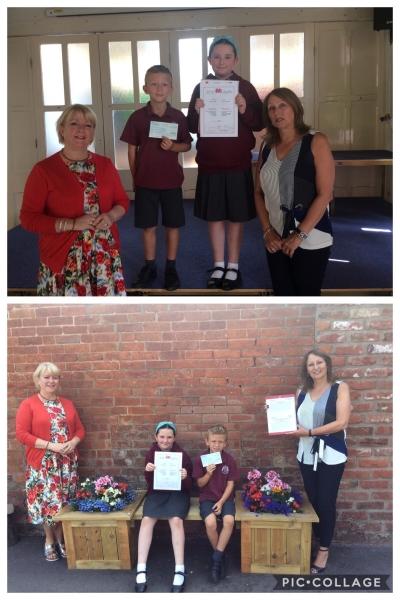 Welsh Hertitage School Initiative Award